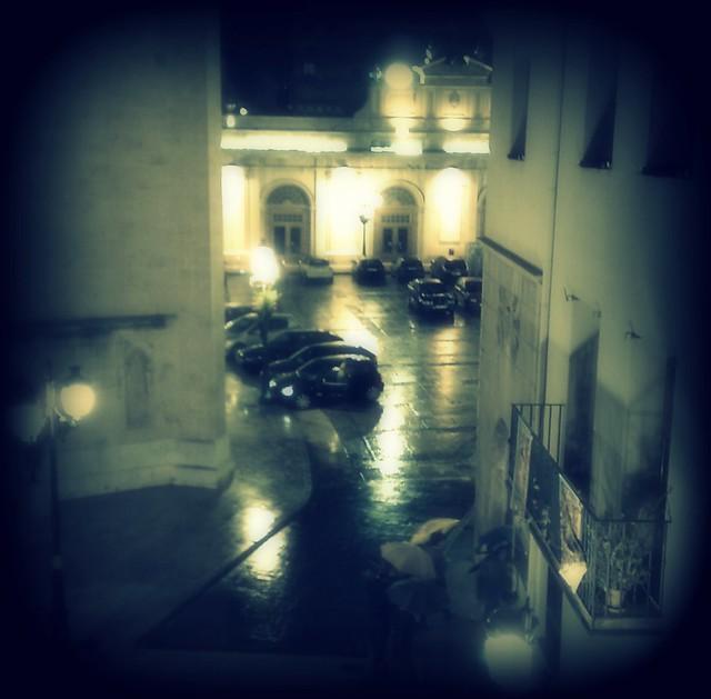 Des del balcó de la Llotja