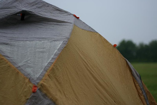 Things to do Trapped inside Your Tent on a Rainy Day