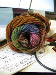 Knitting and Writing Minutes