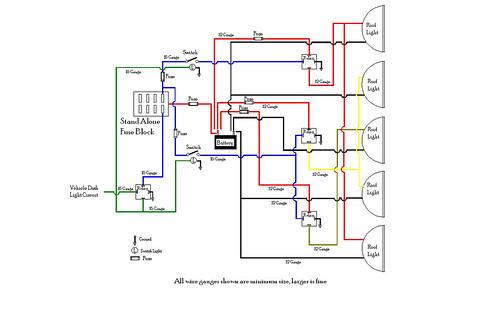 5 Light Wiring