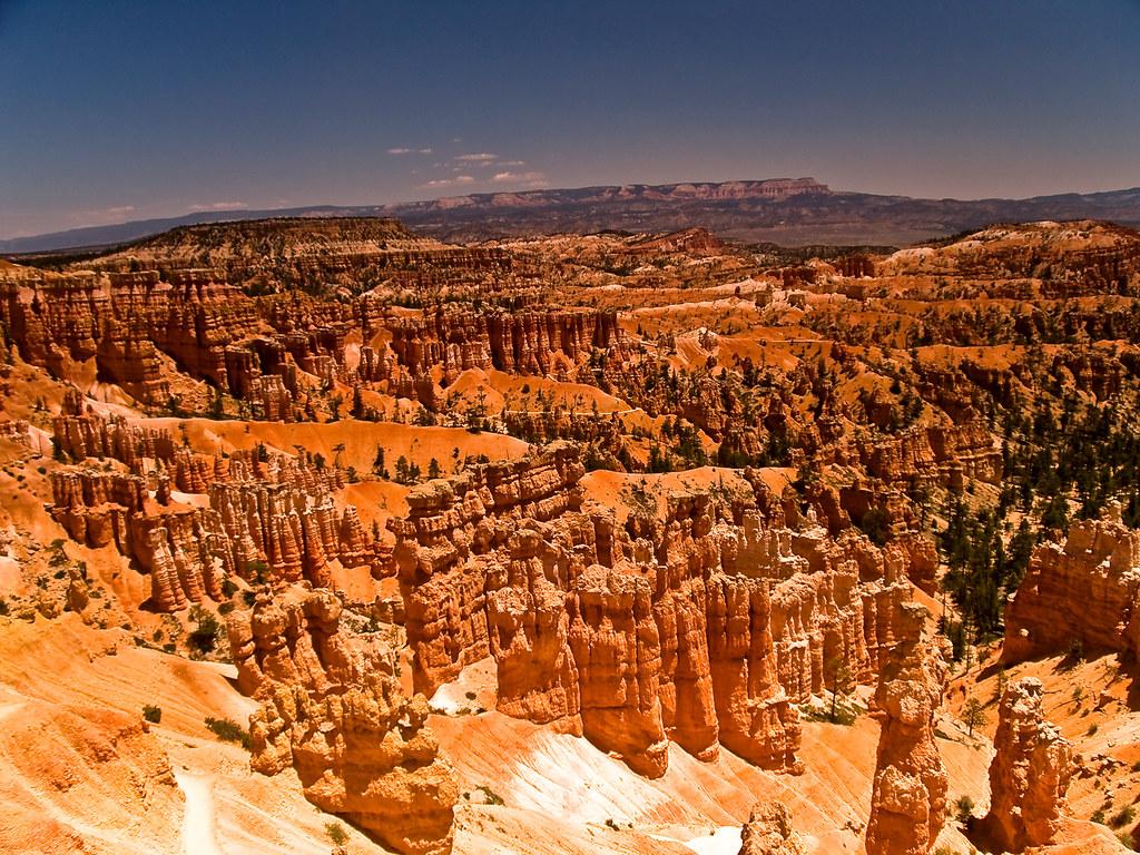 ブライスキャニオン国立公園の風景