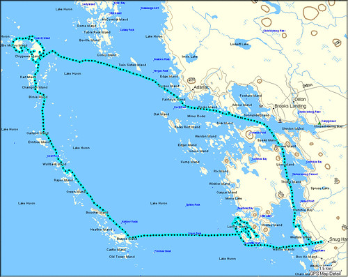 Franklin Island Route