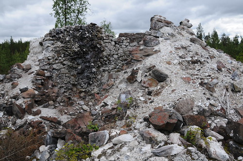 finland geology limekiln vimpeli vesterbacka kalkinpolttouuni