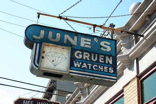 June's Gruen Watches