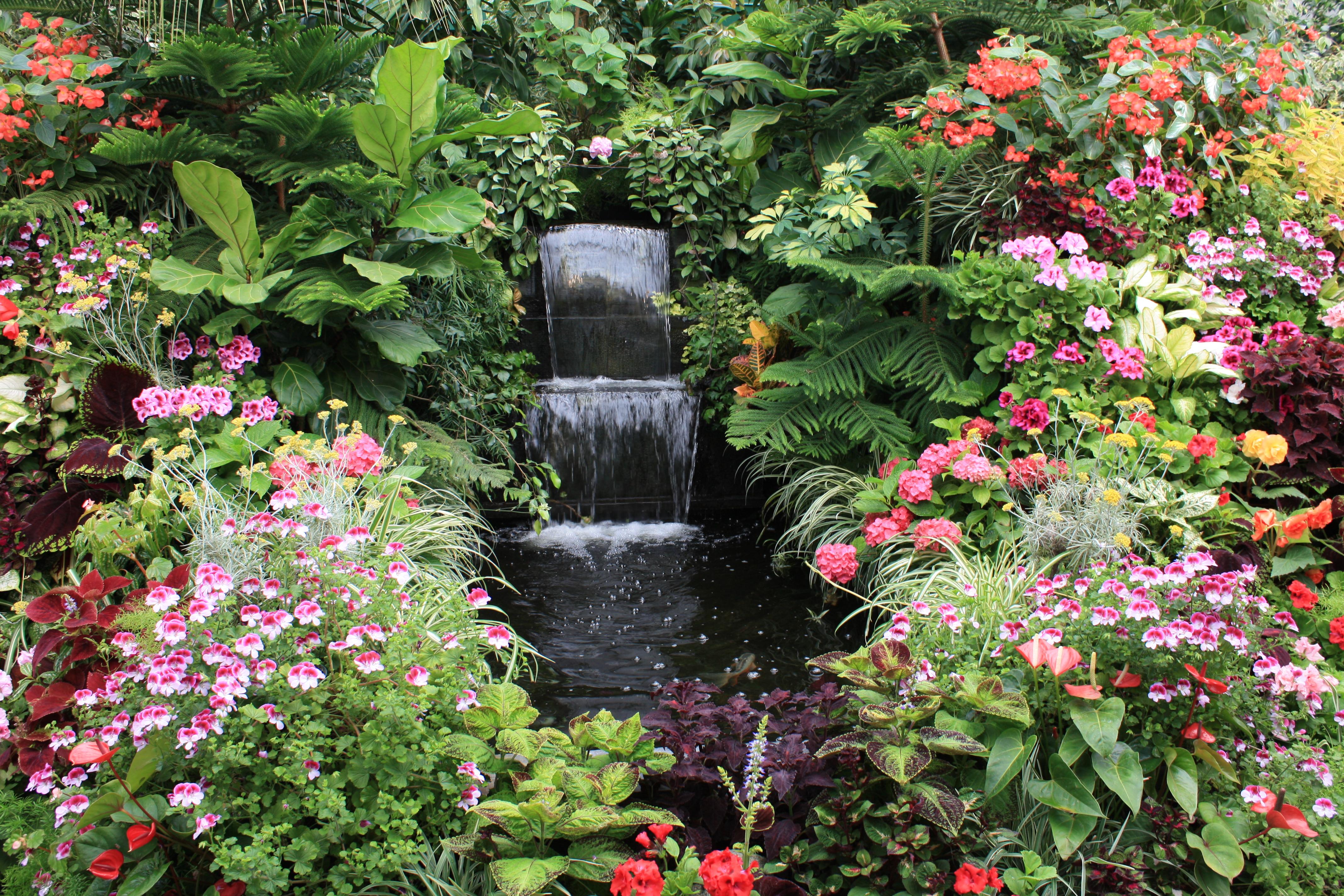Butchart gardens for Best home gardens