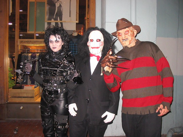 edward scissorhands and freddy cougar san diego 2007