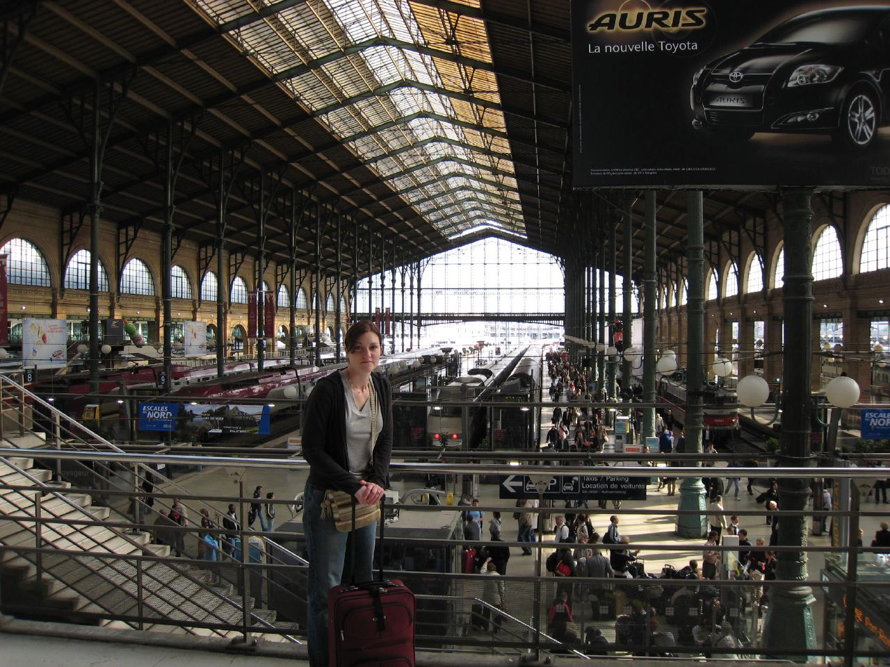 paris gare du nord train station a photo on flickriver. Black Bedroom Furniture Sets. Home Design Ideas