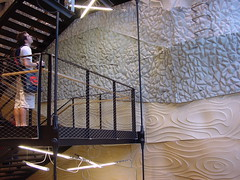Interior Design and Climbing Wall