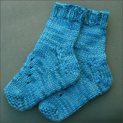 Foxglove Baby socks