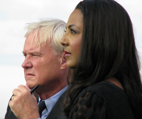 Chris Matthews and Michelle Bernard