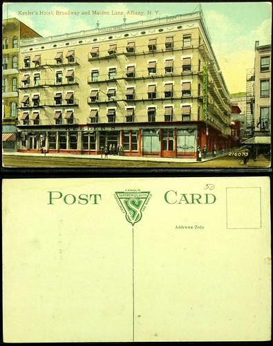 Keeler's Hotel postcard