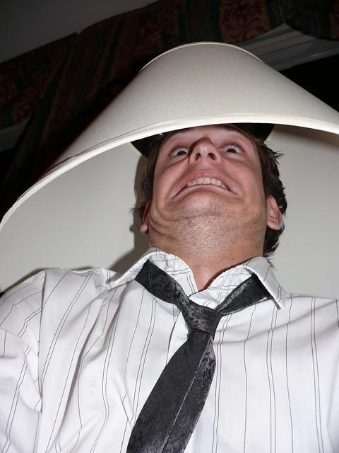 lampshade head