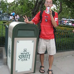 Main Street USA Rubbish Bin