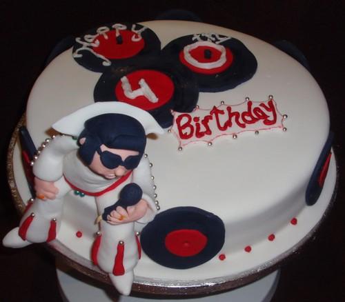 Elvis Birthday Cakes Images