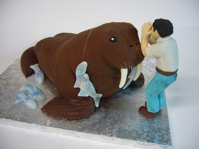 Walrus cake | Flickr - Photo Sharing!