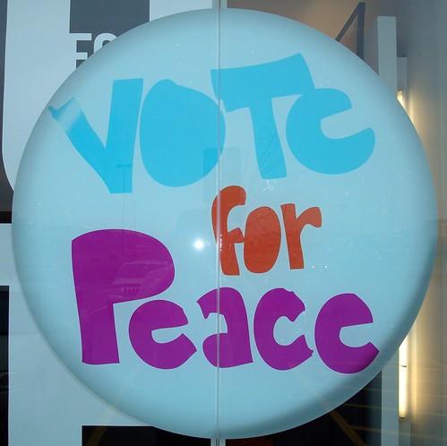 Vote Me peace