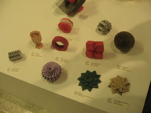 My exhibition at Origami Colombia 2008