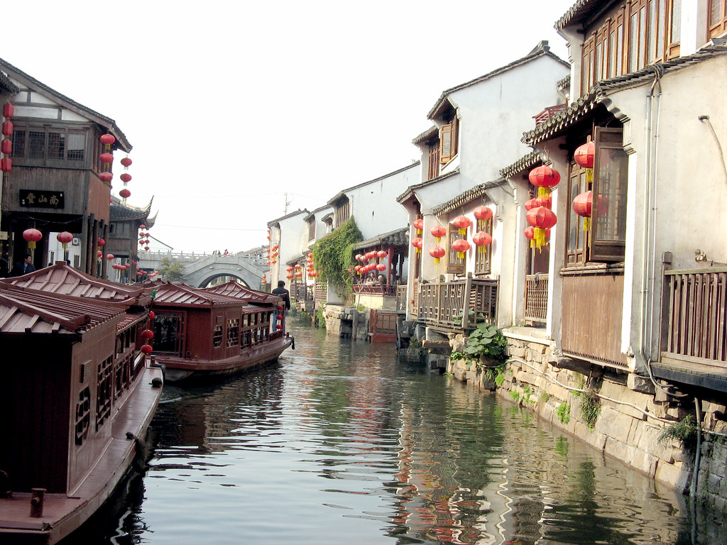 Wooden Boats, Red Lanterns