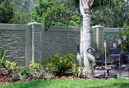 decorative concrete fence privacy wall Flickr Photo