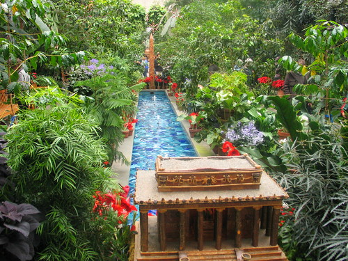 reflecting pool us botanic garden - Us Botanic Garden