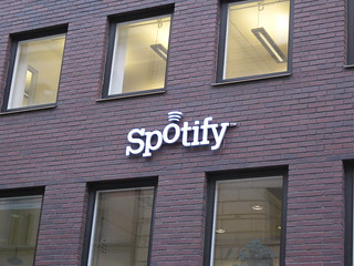 spotify headquarters!