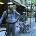 Norm and Stuart back from a ride by Norm Walsh