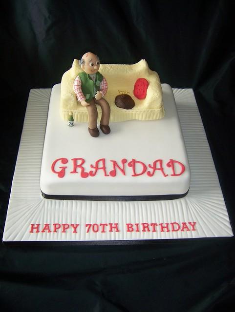 Grandad Sofa Cake A Photo On Flickriver
