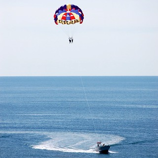 PARASAILING @ THE BEACH
