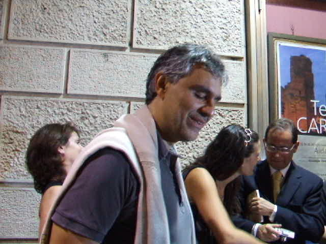 Andrea bocelli carmen rome 25th june 2008