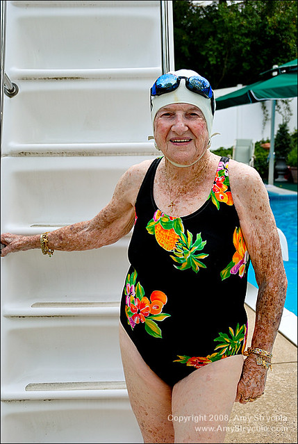 Active Senior Citizen At Swimming Pool Flickr Photo