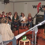 Citizen Cope Performing for WFUV Members in Studio A.