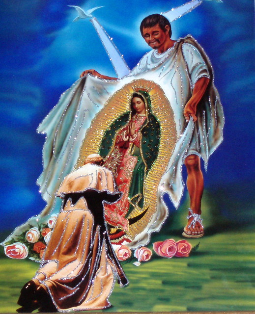 Pope John Paul II & Juan Diego's Tilma | Flickr - Photo ...