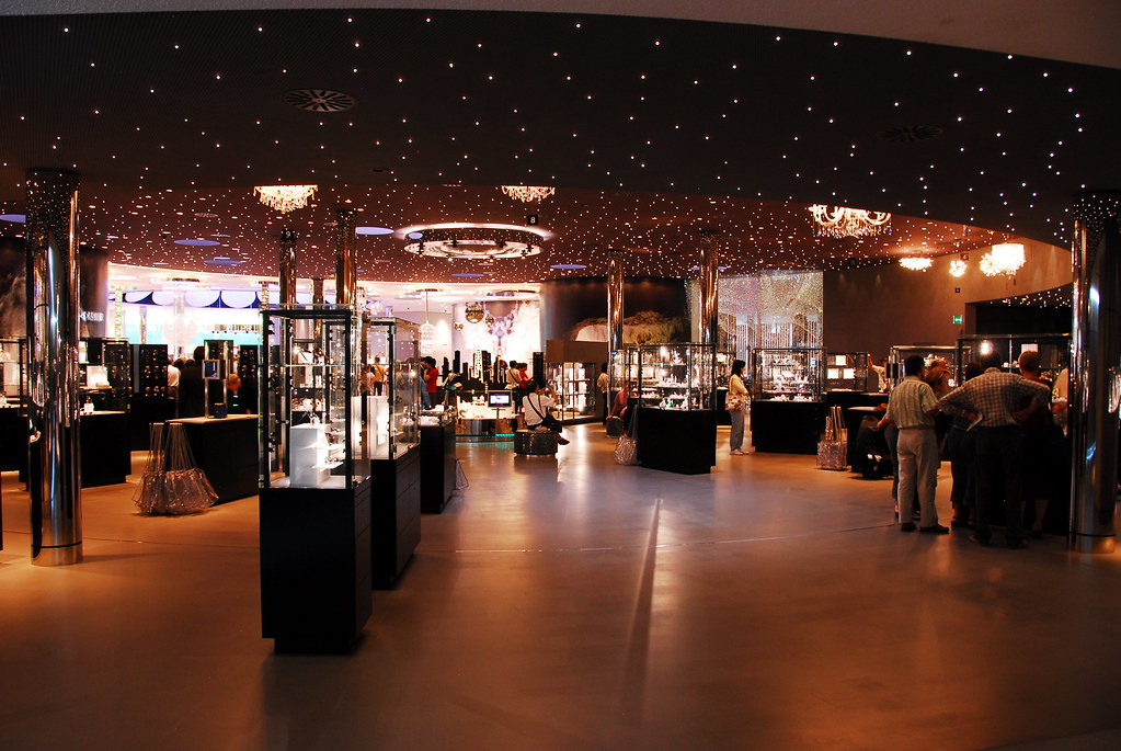 swarovski retail shop