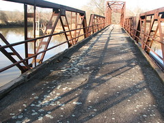 Old Lee Creek Bridge-Deck View