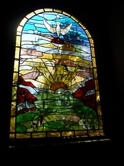 Stained Glass Window Rosicrucian Egyptian Museum and Planetarium San Jose 1