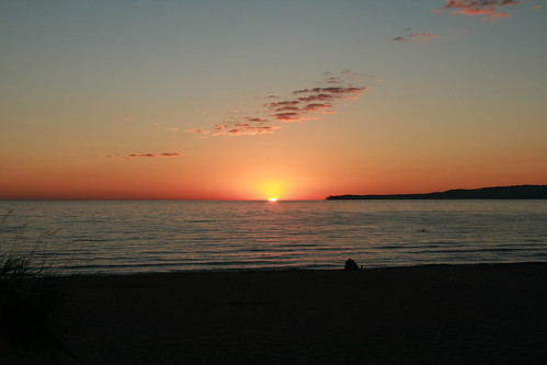trip camping sunset lake water beautiful michigan awesome 2008 laborday petoskey