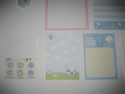 Yogurt Kun Memo Sheets