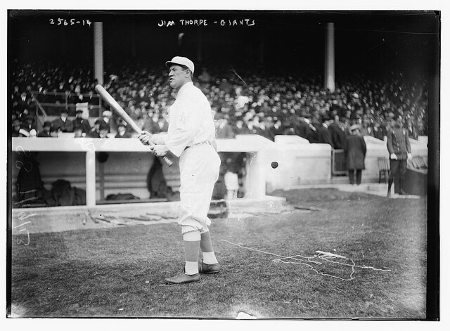 [Jim Thorpe, New York NL, at Polo Grounds, NY (baseball)] (LOC)