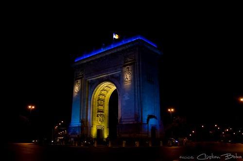 Patriotism Arch by Cristi B