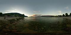 Swan Island Camping Beach