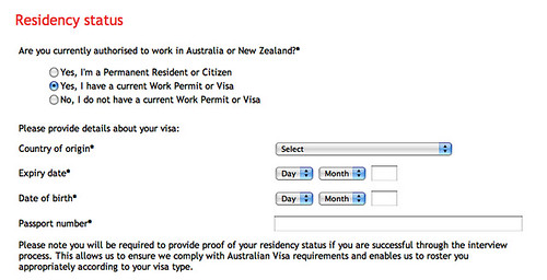 Blank Job Application Forms