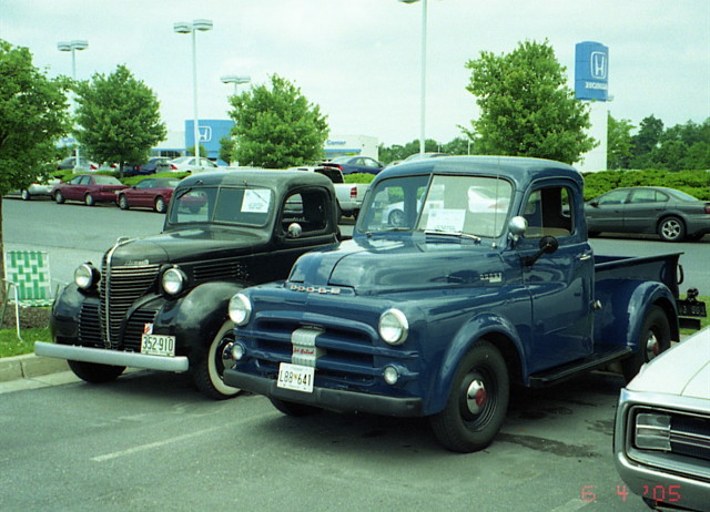 1940 Plymouth And 1952 53 Dodge Pickups Flickr Photo
