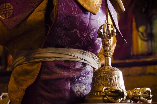 Tibetan prayer bell