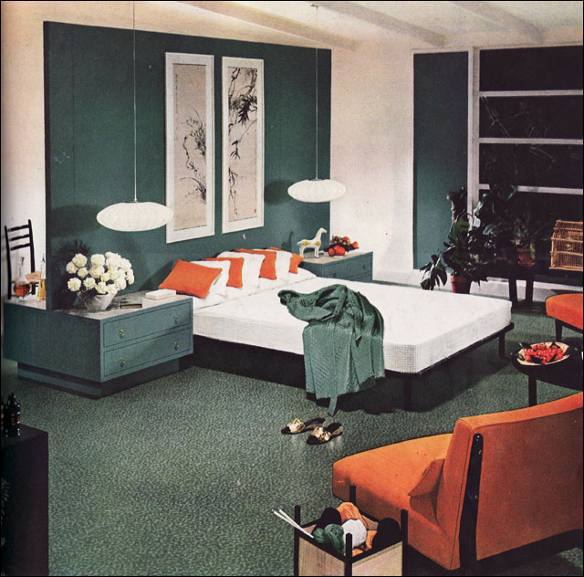 1954 Armstrong Mid Century Modern Bedroom Flickr Photo