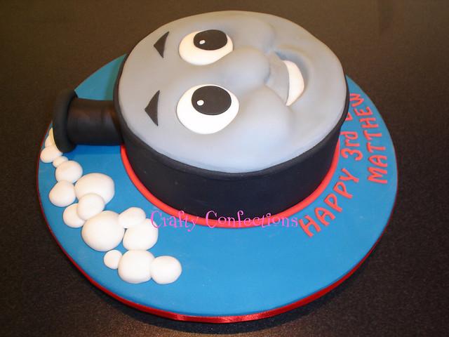 Easy To Make Thomas The Tank Engine Cake