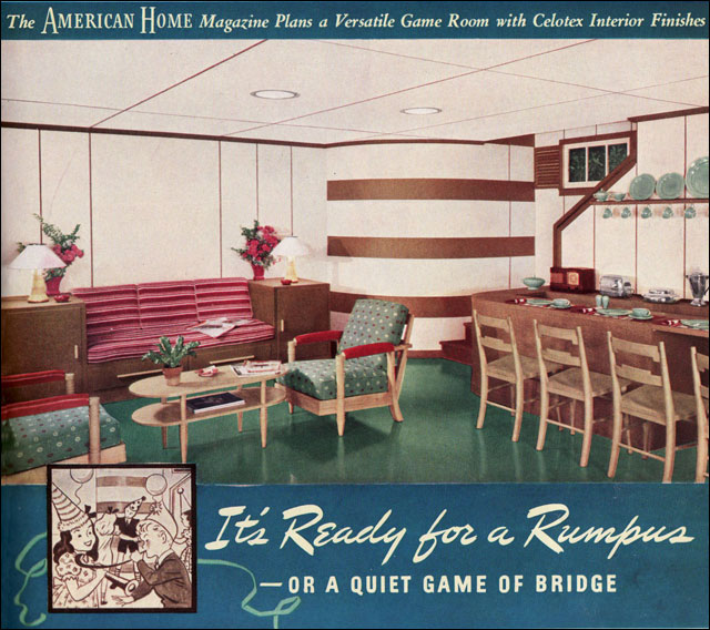 1940 celotex rumpus room flickr photo sharing - Kids rumpus room ideas ...