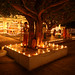 A night at the Durga temple - Hampi