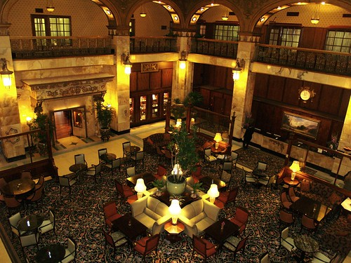 Get engaged at a historic hotel