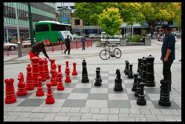 lifesize chess set flickr photo sharing