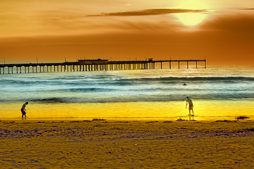 Ocean Beach, San Diego, California, USA